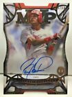 Barry Larkin 2016 Topps Tribute Acetate Die-Cut MVP on-card Autograph Auto #d 50