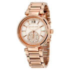 *NEW* MARC BY MARC JACOBS LADIES WATCH MBM3178 - BLADE TWO TONE ROSE CHRONOGRAPH