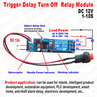 Adjustable Delay Turn Off Switch Timing Timer Board Time Relay Module 110s