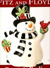 Fitz and Floyd Frosty's Frolic Cookie Jar. Free Delivery