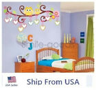 Tree Owl Branch Wall Decals Removable Baby Nursery Stickers Kid Room Home Decor