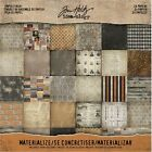 Tim Holtz Idea ology Paper Stash MATERIALIZE 8 x 8 Cardstock Pack TH93303 2016