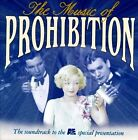 Various Artists : The Music Of Prohibition (1997 Televisio CD