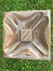 HUGE Red Wing Pottery Ashtray in RARE BROWN COLOR M.3005