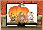 Halloween Costume HOUSE MOUSE Wood Mounted Rubber Stamp STAMPENDOUS NEW HMR79
