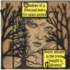 Halloween Chilling Wood Mounted Rubber Stamp STAMPENDOUS NEW R266
