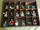 ASHTON DRAKE Yolanda Bello & another 18 Ornaments with Display Case