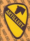 US Army 1st Cavalry Division ARTILLERY Troops patch