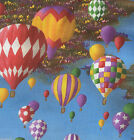 Hot Air Balloons  - NEW Quilt Fabric - Free Shipping - 1 Yard