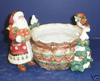 Fitz and Floyd Christmas Lodge Tidbit- New in Box- 19/1367