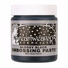 GLOSSY BLACK Embossing Paste by Dreamweaver  Stampendous New DWDGKP