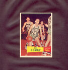 1957-58 Topps BOB COUSY rookie card #17 ***NEAR MINT to MINT*** OUTSTANDING WOW