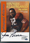1999 JIM BROWN FLEER SPORTS ILLUSTRATED GREATS ON CARD AUTO RARE NR