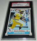 1979 Topps Willie Stargell Signed Card SGC 80 EX NM 6 Auto Grade 8 Pirates