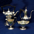 Gorham 4 piece hot chocolate sterling silver set; with hot water Kettle