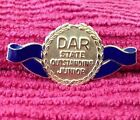 DAR Daughters Of The American Revolution State Outstanding Junior Gold Pin Lot9