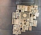 Assorted Stampin UP Stamps Lot Of 48