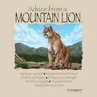 ADVICE FROM A MOUNTAIN LION ADULT XX LARGE T SHIRT