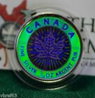 2003 CANADA 9999 Silver Maple Leaf Hologram 2 1 10 oz coin from set