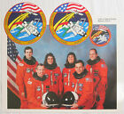 Space Shuttle Endeavour Mission STS 57 Crew Photo and 2 Insignia Stickers NASA