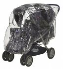 Playshoes Baby Travel Universal Pushchair Tandem Duo Twin Rain Cover. Best Price