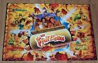 New! Williams The Flintstones Pinball Machine NOS Translite 31-1357-50029