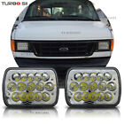 2x LED Headlights High Bright Headlamps for Ford F250 F350 Super Duty Pickup