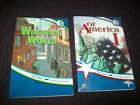 Abeka lot of 2 5th grade Of America 1  Windows to the World student reading