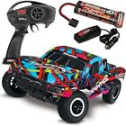 NEW Traxxas Slash 2WD RTR Short Course Truck w/QUICK CHARGER - COURTNEY FORCE
