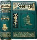 c1880 WORKS OF WILLIAM SHAKESPEARE ROMEO AND JULIET HAMLET MACBETH ILLUSTRATED