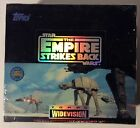 Star Wars Empire Strikes Back Sealed Box Topps Widevision Cards