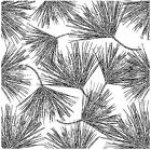PINE Cover A Card Background Unmounted Rubber Stamp Impression Obsession CC259