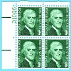 US Stamps Scott 1278 1c Jefferson Prominent American Series 1968 MINT OG NH VF