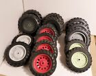 1/16 scale lot of rear tractor tires for parts