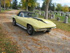 Chevrolet Corvette Base Convertible 2 Door 1967 chevrolet corvette l 68 427 cu in full load documented and restored car