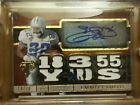 2014 Emmitt Smith Topps Triple Threads 2 color Patch Auto Gold 18 Rare HOFER