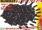 50PC SCREW DRIVER BITS POZI PZ2 BIT FITS  Fits Hitachi, Hilti, Milwaukee Am-Tech