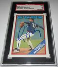 1988 Topps Greg Maddux Signed SGC Auth Auto 9 Card 60 EX 5 Cubs Braves