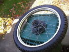 1983 HONDA XL250 XL 250 MOTORCYCLE FRONT WHEEL