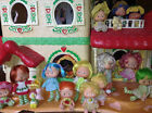 Vintage strawberry shortcake berry happy home, house Dolls Furniture Lot