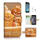 ( For iPhone 7 Plus ) Wallet Case Cover P2869 Love Cookie
