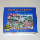 Charles Fazzino Washington Welcomes You 1000 Piece Puzzle - NEW / FACTORY SEALED
