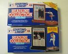 STARTING LINEUP HEADLINE COLLECTION 1991 & 92 NOLAN RYAN TEXAS RANGERS - 2 ITEMS