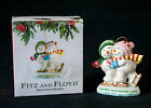 Fitz and Floyd FF FROSTY FOLKS Happy Holidays Ornament Snowman (2001) 19/463-J