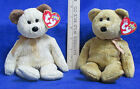 Ty Beanie Babies Bear Plush Original Stuffed Animal 2000 Cashew