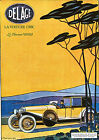 Art Print POSTER Rench Sports Car Auto Delage