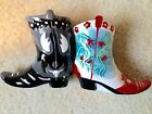 Westland Cowboy Boots Salt and Pepper Shakers