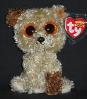 TY BEANIE BOOS BOO'S - ROOTBEER the DOG - MINT with MINT TAGS - GLITTER EYES