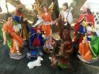 8 inch Christmas Nativity Scene Set Figures Resin Figurines Baby Jesus 12 PIECE