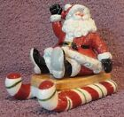 Fitz & Floyd Yuletide Holiday Salt & Pepper Shakers New in Box